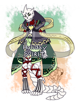 [Closed] :: Holiday Spirit Adoptable :: by NobleChinchi