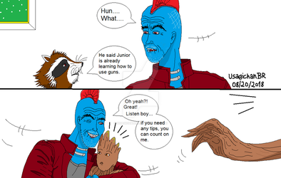 GOTG - We Have Visitors PART 2 (END) by UsagichanBR