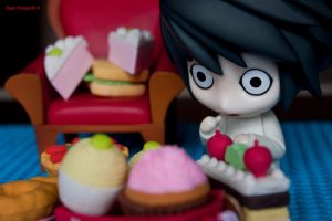 L drooling over sweets :D by dragoonmania