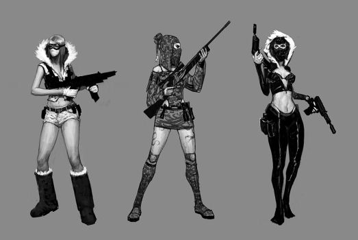 Call of Duty Girls by Reallygay