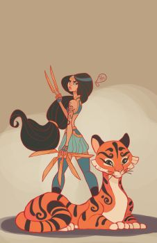 Jasmine and Rajah by MeoMai