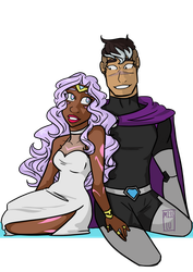 Shallura week day 6 by LuciatheSharkxx