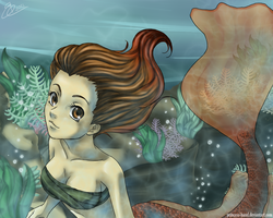 Another mermaid .. by Princess-Hazel
