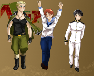 The Axis Powers by Artemysia