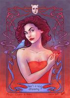 Audrey Horne by MorganeDeMatons