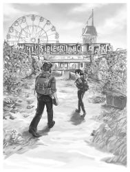 First time at an amusement park by l31gh