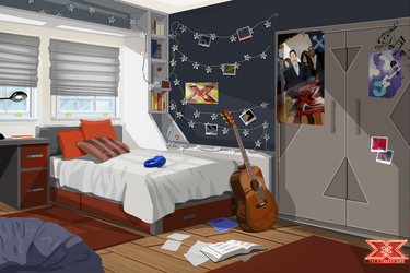 The X Factor Life - Player Bedroom by DavidGalopim