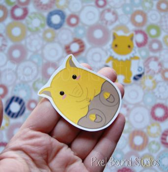 Drowzee Sticker and Magnet by pixelboundstudios