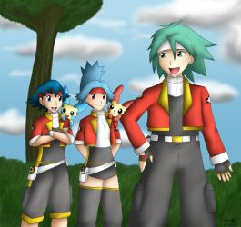 -PKMN- Ringtown Rangers by pdutogepi