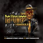 Golden Scary Halloween Party Flyer by n2n44