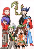 Pokemon Emerald Challenge by Quilofire