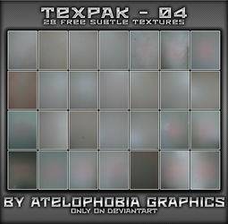TEXPAK - 04 [FREE] by Atelophobia-Graphics