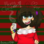 Merry Chirstmas!  by Bonnieart04