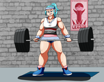 Lift like a girl by MetaWarrior94