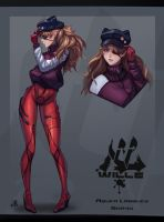 Asuka - Evangelion 3.0 ver by Justb1aze