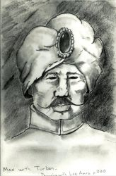 Man with Turban by GentlestGiant