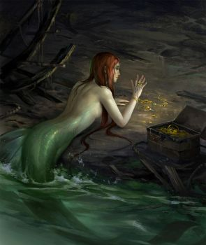 Mermaid by sandara