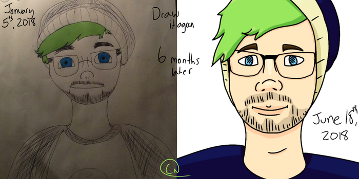Draw it again- Jacksepticeye Fan Trash by ThatPan