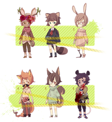 Adoptables set : ROADKILL [OPEN] by stardop