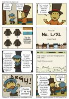 Professor Layton fan comic 2 by karenluk