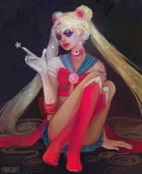 usagi by Chaotic-Muffin