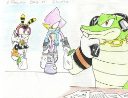 A Regular day at Chaotix by Dolltwins