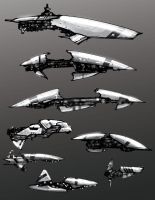 Eve ONline WIP by Baranha