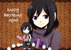 -Happy Birthday AYA- by Azelilia