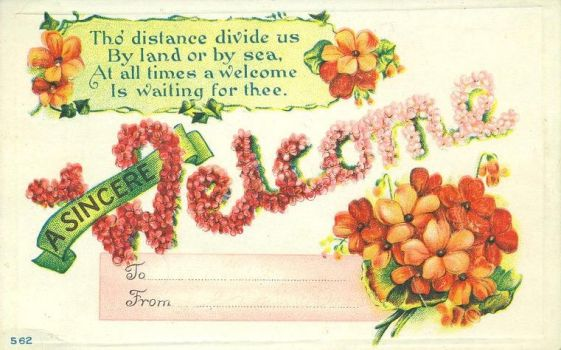 A Sincere Welcome by Yesterdays-Paper