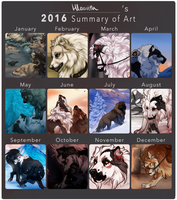 2016 Summary Of Art by Hlaorith