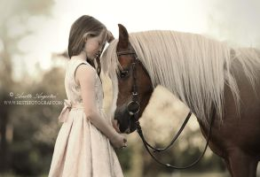 Young Love by Hestefotograf