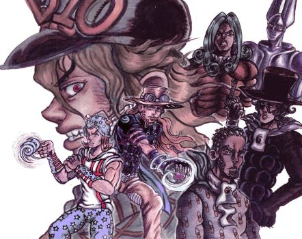 JJBA: Steel Ball Run by CHAOS-CHAOS-CHAOS