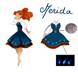 [Darling Army Contest] Merida by Jeananas