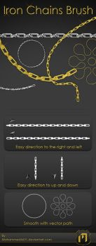Iron Chains Brush by mohammed6651