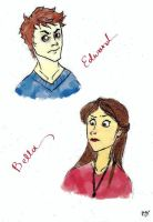 Bella and Edward_COLORED by hp4life
