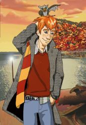 hooray for autumn: Ron by NinnyTreetops