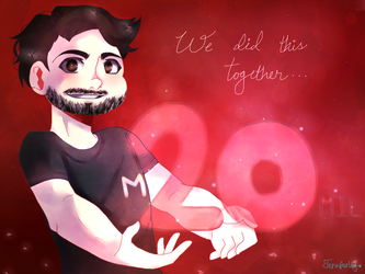 Markiplier 20 Million by Jenniferlily