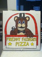 Freddy Fazbear's Pizza Box by hotcheeto89