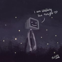 i am stalking you tonight by mclelun