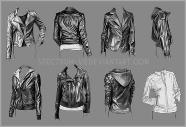 A study in women's jackets by Spectrum-VII