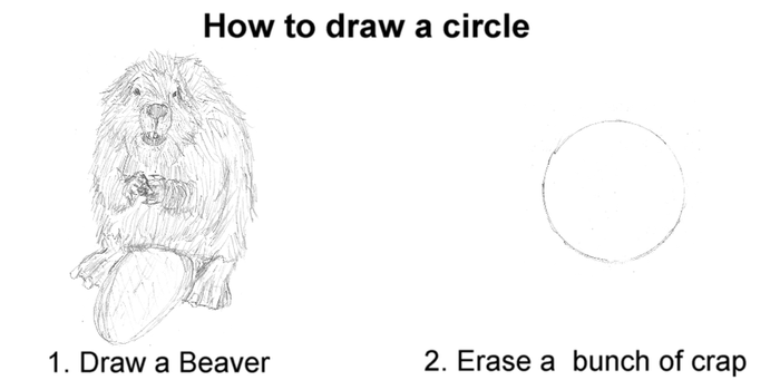 Tutorial: How to draw a circle by EvilTelephone