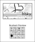 PS Brushes Frisky by shoozie