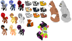 Newer Unsold Adopts by TheRealRiiver