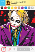 Drawsomething_Joker by zzyzzyy