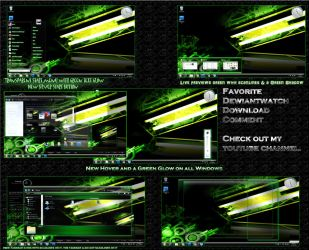 win 7 theme se7en poison v2 by nullz0rz