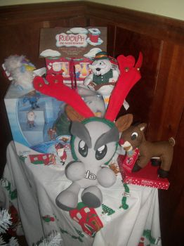 fella the no nosed raindeer by boomer-anonymous