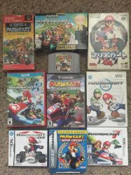 My Updated Mario Kart Collection by Billopo