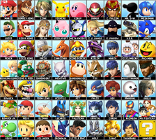Super Smash Bros. 4 Dream Roster v2 by Lucas-Zero