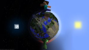Day and Night in Minecraft by Desinika