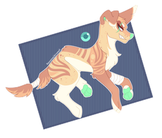 CLOSED | Adoptable Auction - Stripes n' Spots by Riipurr